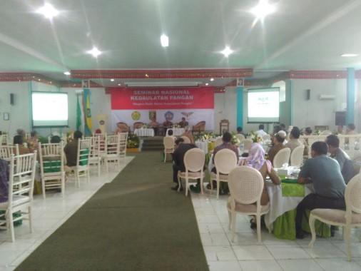Seminar Nasional Kedaulatan Pangan di Aula Fakultas Pertanian Unila, Selasa, 18/10/2016. | Andi Apriyadi/Jejamo.com
