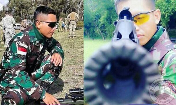 Inilah Serda Dasep, Sniper yang Harumkan Nama TNI di Kancah Internasional