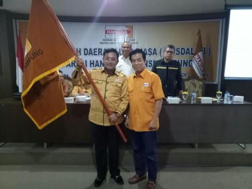 Wakil Bupati Lampung Utara Sri Widodo Pimpin DPD Hanura Lampung