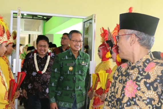 Ketua Tim Penggerak PKK Lampung Hadiri Peringatan Hari Cuci Tangan Pakai Sabun Sedunia