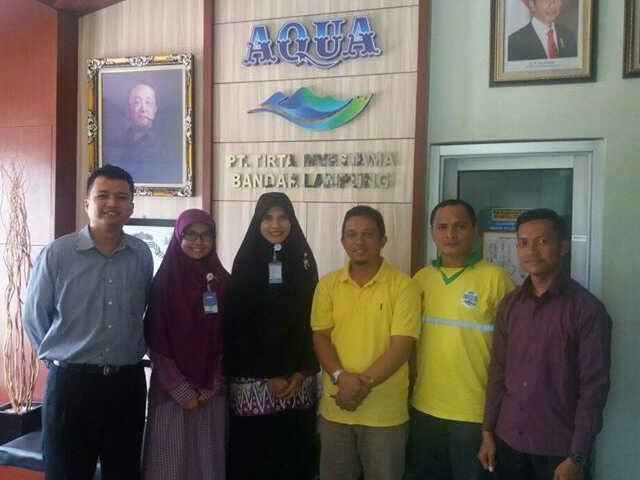 Sebarkan Semangat Berderma, PKPU Lampung Silaturahmi ke PT Tirta Investama