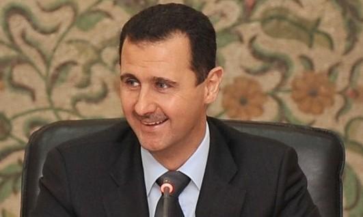 Ditanya Soal Korban Perang, Presiden Bashar Al-Assad Tertawa