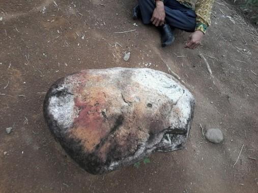 Cerita Situs Batu Berdarah di Tiyuh Karta, Tempat Adu Kesaktian Panglima Kerajaan Tulang Bawang