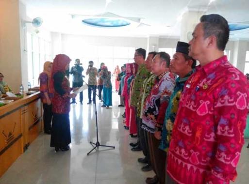 Pemkab Lampung Timur Launching Kelompok Kerja Bina Keluarga TKI