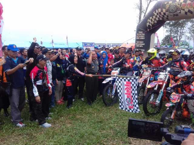 Bupati Lampung Timur Buka Adventure Trail Festival Way Kambas 2016