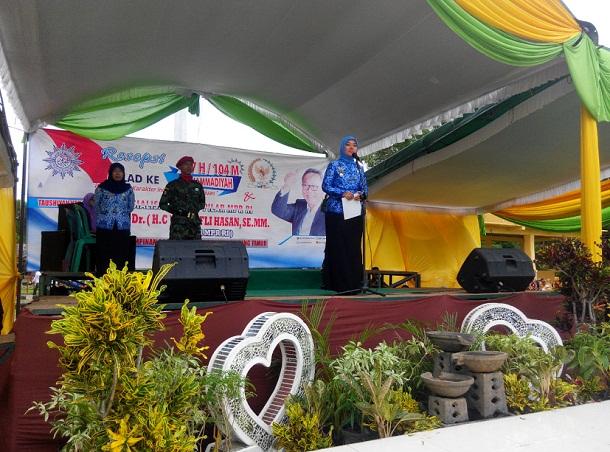 Bupati Lampung Timur janji Gelontorkan Rp250 Juta untuk Muhammadiyah