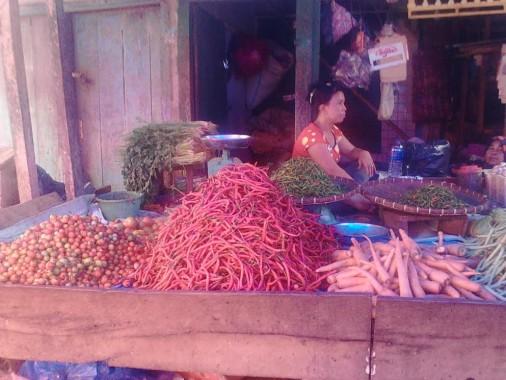 Inilah Pergerakan Harga Beberapa Komoditas di Pasar Sentral Kotabumi Lampung Utara