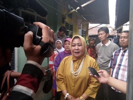 Anggota DPRD Lampung Utara Sandi Juwita Kunjungi Korban Pelecehan Seksual