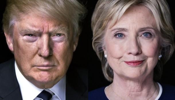Survei Terbaru, Donald Trump Ungguli Hillary Clinton