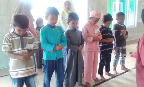 Ratusan Anak Ikuti Festival Anak Saleh Se-Dusun Serbajadi Natar