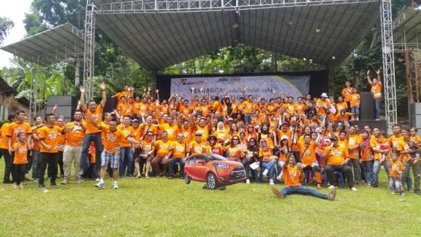 Auto 2000 Raden Intan Lampung Gelar Family Gathering di Lembah Hijau