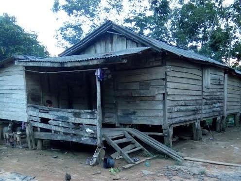 Warga Desa Muktijaya Kabupaten Mesuji Ini sudah 34 Tahun Tinggal di Gubuk Reyot