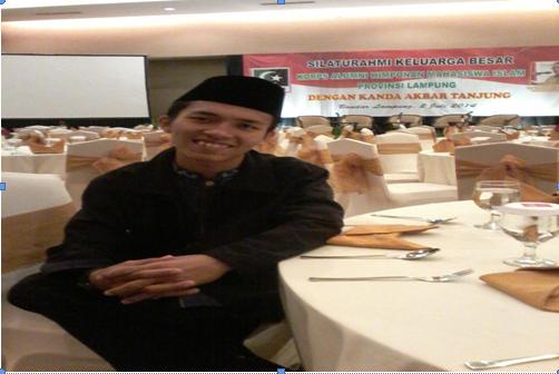 Buat Mahasiswa Lampung yang Mau Sukses Kuliah dan Organisasi, Baca Kisah Hariyanto Ini