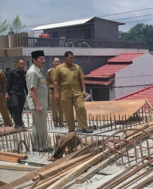 Herman HN Tinjau Pembangunan Flyover Jalan Gajah Mada