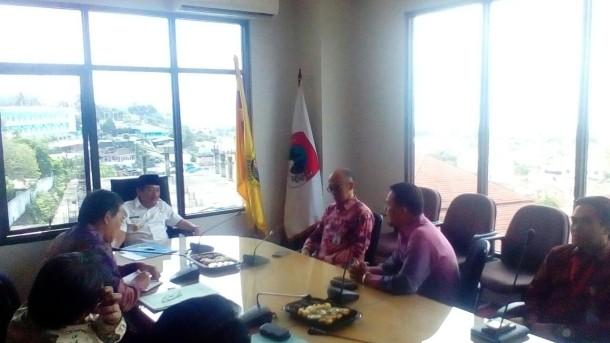 Wali Kota Bandar Lampung Herman HN Terima Kunjungan Ombudsman
