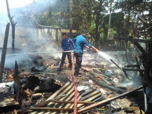 Marsudi dan Saidan Satpam IAIN Raden Intan Lampung Jadi Korban Pengeroyokan
