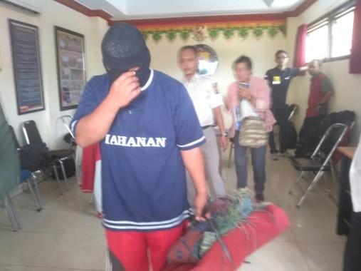 Jasimin Warga Lampung Selatan Tega Cabuli Anak Kandung Masih Duduk di Bangku SMP