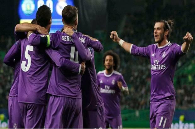Menang Tipis atas Sporting CP, Real Madrid Lolos ke 16 Besar Liga Champions