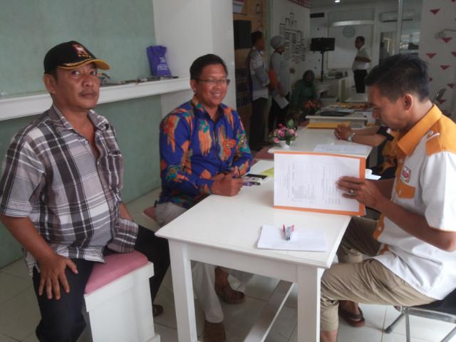 Empat Calon Ketua DPC Hanura Lampung Tengah Kembalikan Berkas Pendaftaran