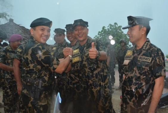ADVERTORIAL: Bupati Lampung Tengah Mustafa Jadi Warga Kehormatan Brigadir Infanteri 3 Marinir