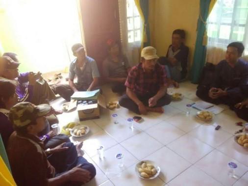 PKPU dan Asosiasi Industri Kecil Kelurahan Keteguhan Bandar Lampung Bahas Program Kerja