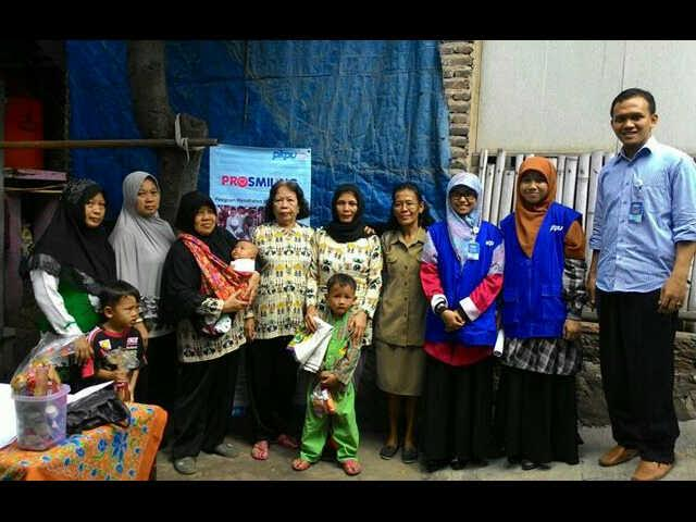 PKPU Lampung-CIMB Niaga Syariah Salurkan Bantuan Korban Banjir Telukbetung Selatan