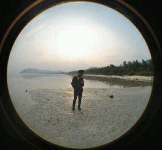 Pesona Pantai Klara Pesawaran Lampung