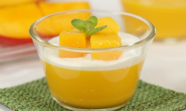 Musim Mangga Tiba! Saatnya Membuat Mango Puding