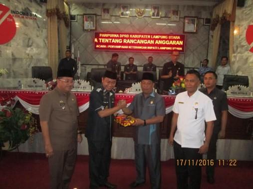 Advertorial: Sidang Paripurna DPRD Lampung Utara, Bupati Agung Ilmu Mangkunegara Minta Raperda Segera Disahkan