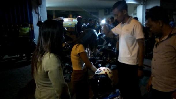 Razia Balap Liar, Polsekta Telukbetung Selatan Sita Puluhan Motor Bodong