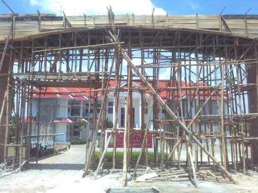 Setelah 12 Tahun, Kantor DPRD Lampung Tengah Akhirnya Direnovasi