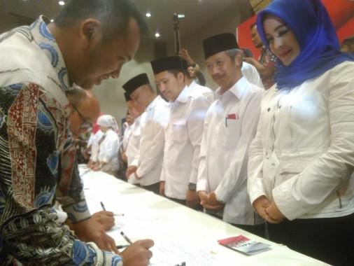 Penandatanganan Pakta Integritas Calon Bupati-Wakil, Ini Kata Gubernur Lampung