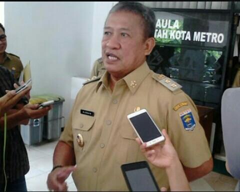 Wakil Wali Kota Metro Djohan. | Jejamo.com