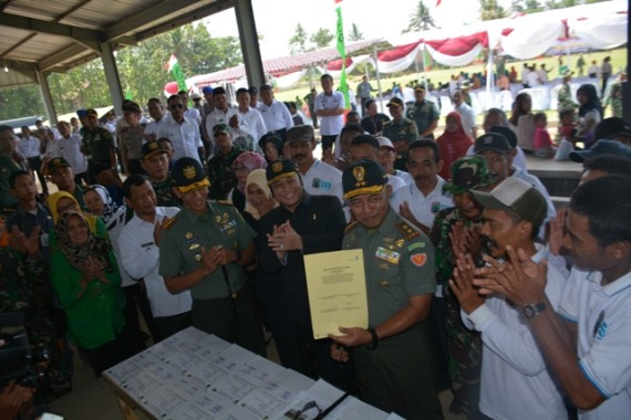 Kaukus Perempuan Politik Indonesia Lampung Dikukuhkan