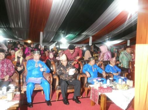 Tamu undangan Festival Seni Qasidah Bintang Vokalis Tingkat Nasional ke XXI 2016 di Provinsi Lampung | ist