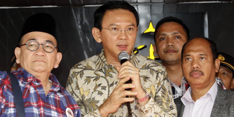 Pemuda Muhammadiyah Sambangi PN Jakarta Utara Tanyakan Persiapan Sidang Ahok