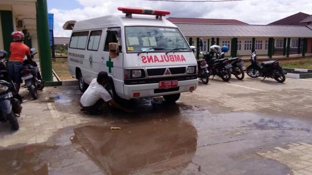 Kakek Tukimin, 27 Tahun Jadi Sopir Ambulans di RSUD Pringsewu Lampung