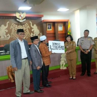 Aqsa Working Group Lampung Serahkan Donasi untuk Korban Kemanusiaan di Suriah