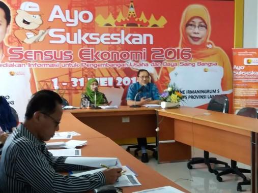 Bandar Lampung Mengalami Inflasi Sebesar 0,43 Persen pada November 2016