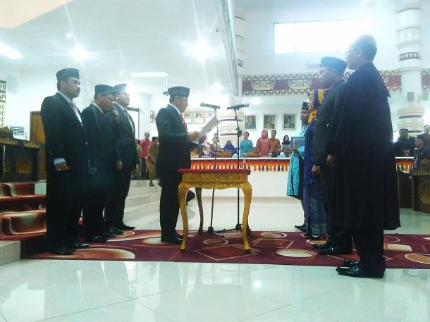 DPRD Kota Bandar Lampung Lantik Yulius Gultom Gantikan M Pansor