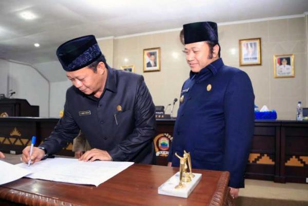 Bupati Tulang Bawang Barat Resmikan Puskesmas Poned Suka Jaya