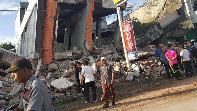 Inilah Data Korban Jiwa dan Kerusakan Akibat Gempa Aceh