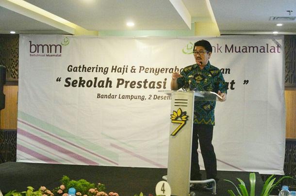 Gubernur Lampung Ajak Semua Pihak Ikut Bangun Dunia Pendidikan