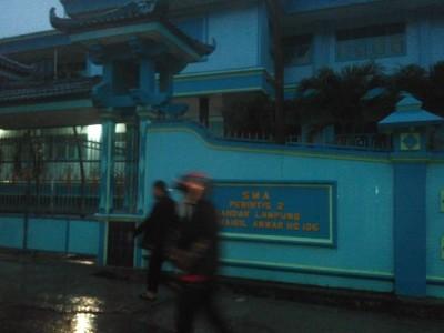 SMA Perintis 2 Bandar Lampung Dibobol Maling, Laptop dan Sejumlah Uang Raib