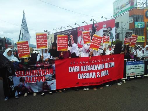 HTI Lampung Minta Warga Muslim dan Pemimpin Indonesia Peduli Suriah