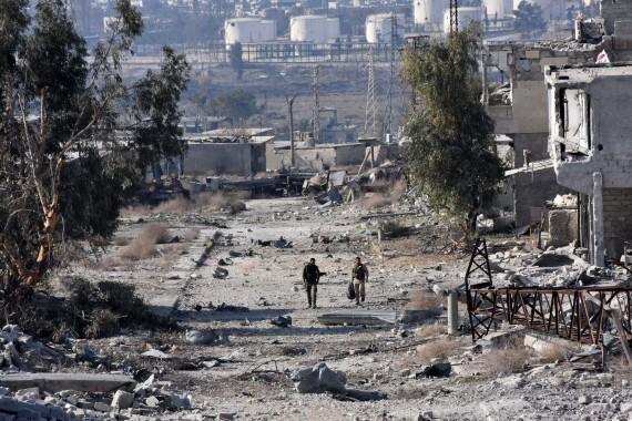 Pasukan Assad Kuasai Kota Aleppo