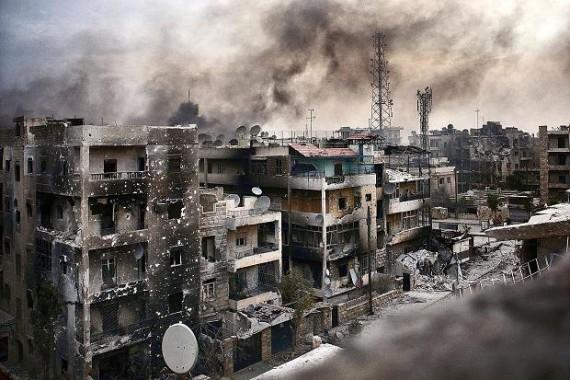 Usai Evakuasi Pemberontak Suriah Bombardir Kota Aleppo