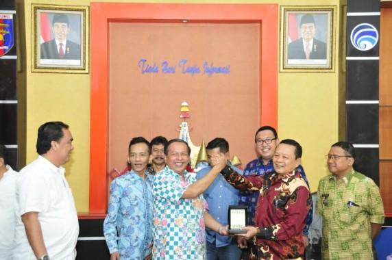 Komisi IV DPRD Provinsi Banten Kunjungi Dinas Kominfo Provinsi Lampung