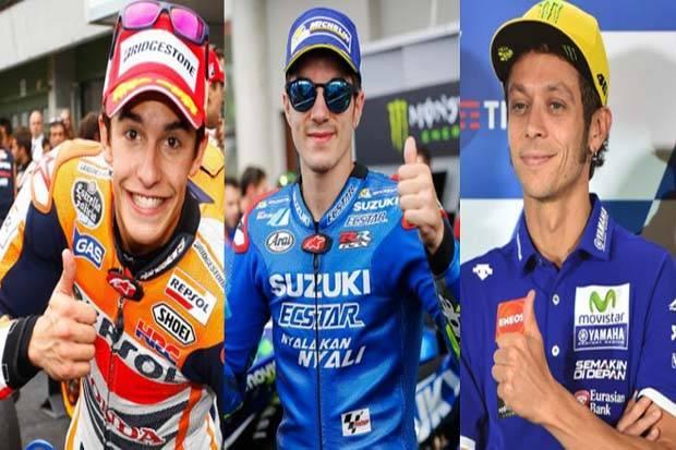 Marquez Waspadai Rossi dan Vinnales Sebagai Musuh Utama Tahun Depan