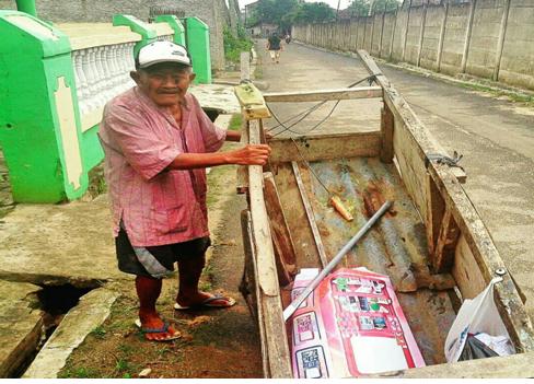 Mbah Senen Pemulung Berusia 105 Tahun di Bandar Lampung, Malu Ngemis